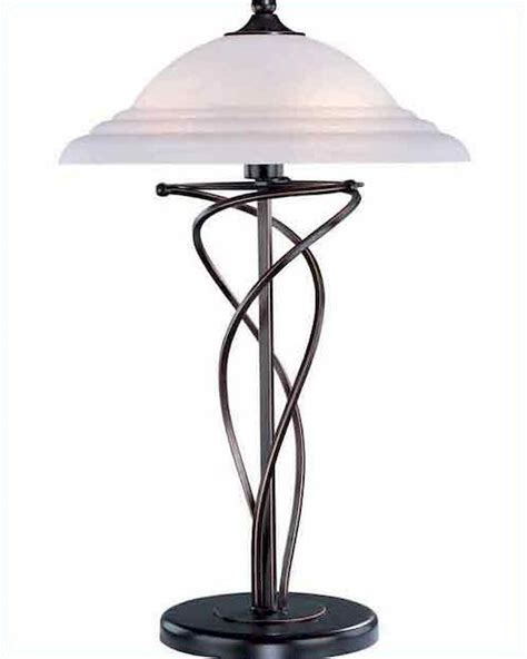 glass l shades for table ls lite source bronze w cloud glass shade table l ls