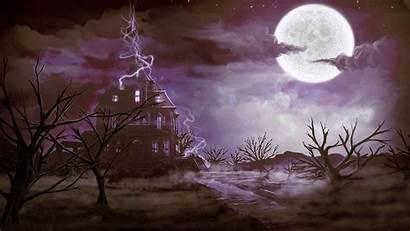 Spooky Halloween Creepy Scary Fantasy Horror Dark
