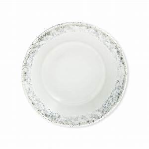 Assiette Plate Originale : assiette creuse en gr s blanc 16cm assiettes design bruno evrard ~ Teatrodelosmanantiales.com Idées de Décoration