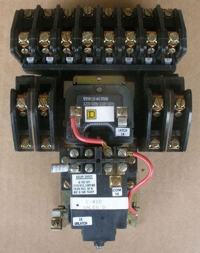 Square Lighting Contactor Wiring Diagram
