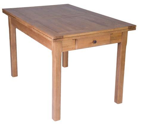 cuisine ch麩e massif table en chene massif avec rallonges table repas en ch ne massif avec rallonge 180