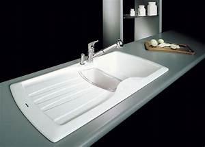 Evier Cuisine Ceramique Blanc : evier cuisine ceramique blanc fabulous lovely evier ~ Premium-room.com Idées de Décoration