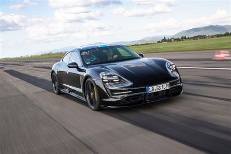 Porsche's Taycan covered 2,128.1 miles in 24 hours at ...