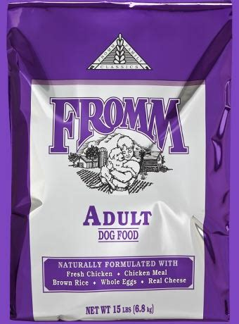 classic recipes  dogs fromm family foods
