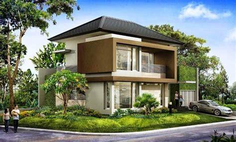 desain rumah  lantai minimalis  konsep ruangan terbuka