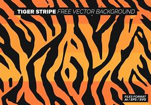 Tiger Stripe Free Vector Background - Download Free Vector ...