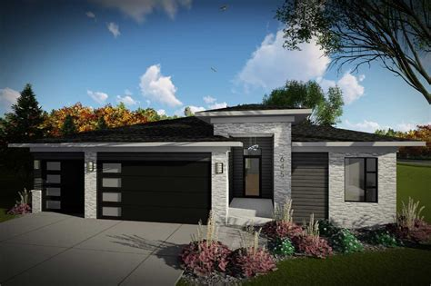 Modern House Plan 2 Bedrooms 2 Bath 1484 Sq Ft Plan 7 1326