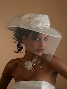 Chapeau Anglais Femme Mariage : coiffure mariage avec chapeau ~ Maxctalentgroup.com Avis de Voitures