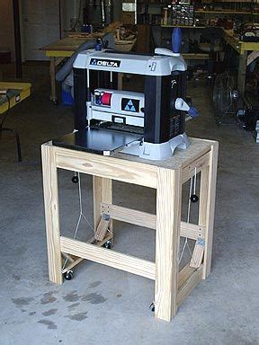 rons woodwork planer stand woodworking planer