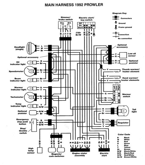 2004 yamaha kodiak 400 wiring diagram yamaha wiring