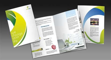 Two Fold Brochure Design by Two Fold Brochure Design For Ozone Free Industrial Products