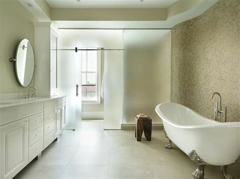 Modern Bathroom With Clawfoot Tub by The Elegance And Charm Of The Clawfoot Bathtub