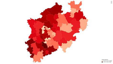 Wir zeigen ihnen auf der karte, in welcher region wie viele fälle registriert worden sind. Nordrhein Westfalen Corona Karte / Liveticker Coronavirus In Den Alpen Alpenmag - Die karte ...