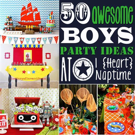 year  boy birthday party ideas examples  forms