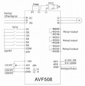 Low Voltage Ac Frequency Inverter Drive Three Phase Vfd On