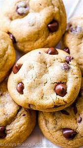 Brown Butter Chocolate Chip Cookies. - Sallys Baking Addiction
