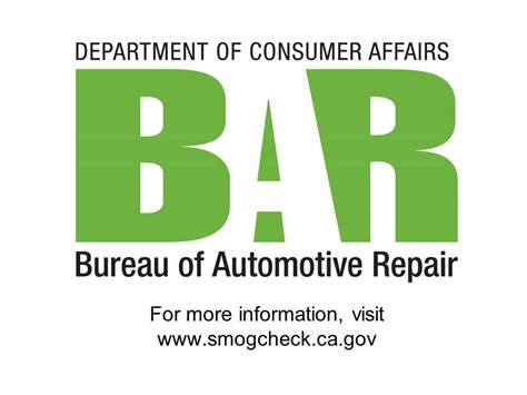 bureau of automotive repair advisory meeting january 15 2015