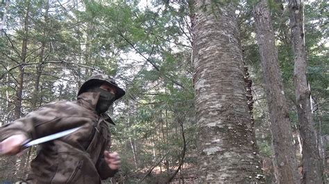 Gauntlet Review  Ontario Okc Bushcraft Knife  Test  Youtube