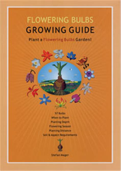 flowering bulbs growing guide stefan mager new laminated