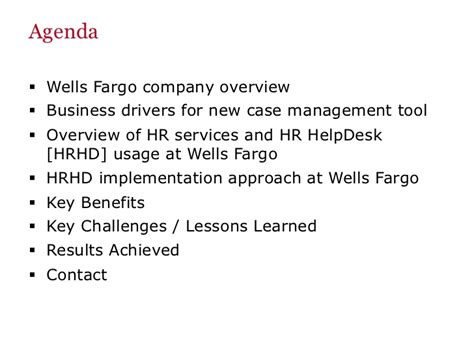 wells fargo help desk number oracle open world 2012 hr help desk presentation wells