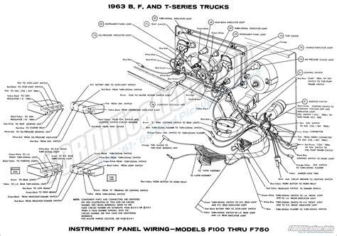 1961 1963 Ford F 100 Wiring Diagram by 1961 1963 Ford F 100 Wiring Diagram Ford Wiring Diagram