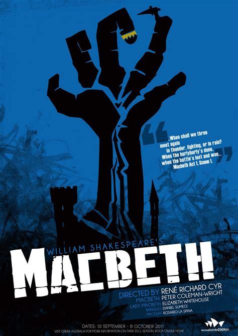 macbeth poster macbeth poster shakespeare macbeth