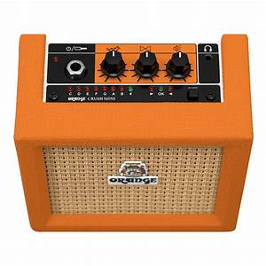 Ampli Wifi Orange : mini crush orange mini crush audiofanzine ~ Melissatoandfro.com Idées de Décoration