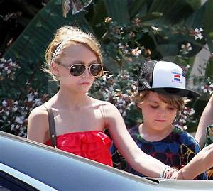 Lily-rose Melody Depp and Jack in France 08-20-2011 - joh ...