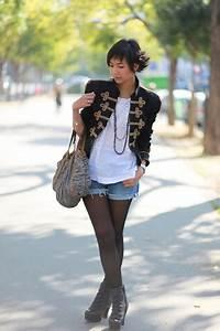 Shorts with Tights   fashionwaffle