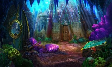 secret city fantasy abstract background wallpapers