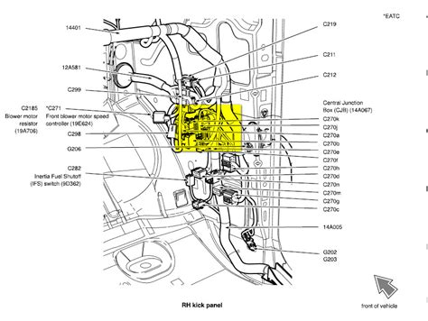 2004 Ford F150 Heritage Fuse Diagram by 2004 F150 Heritage No Power To The Data Link Connector