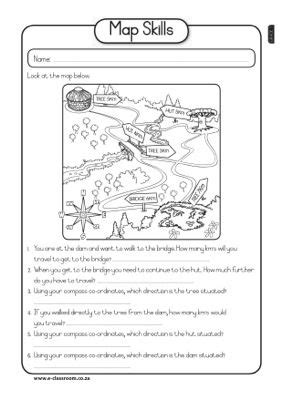 map skills worksheet social studies teaching social studies 4th grade social studies map