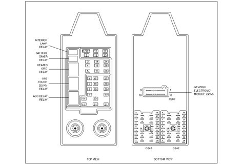 1999 Ford Expedition Xlt Fuse Box Diagram by I M Need To The Diagram Of The Fuse Box For A 1999