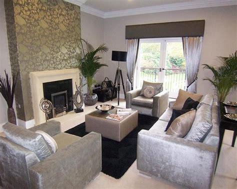 black and silver living room ideas wallpaper living room design ideas photos inspiration