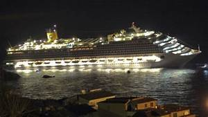 First Video and Images of the Cruise Ship Sinking In Italy ...