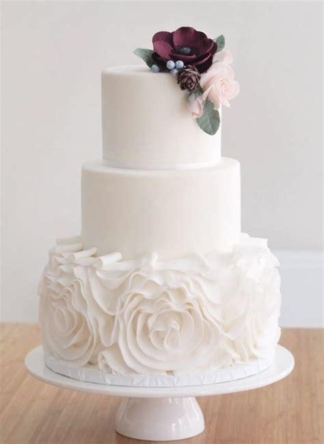 Wedding Cake Inspiration Floral Wedding Cakes Wedding