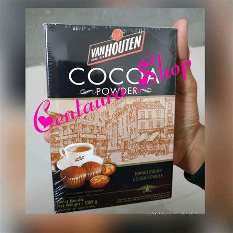 daftar harga coklat bubuk van houten terbaru