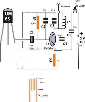 Remote Control Circuit Using Radio