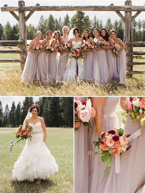 country wedding colors the 25 best country bridesmaid dresses ideas on