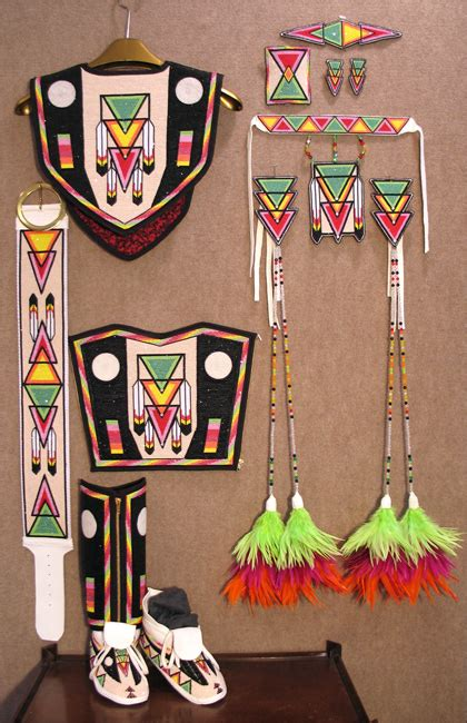 kq designs native american beadwork powwow regalia