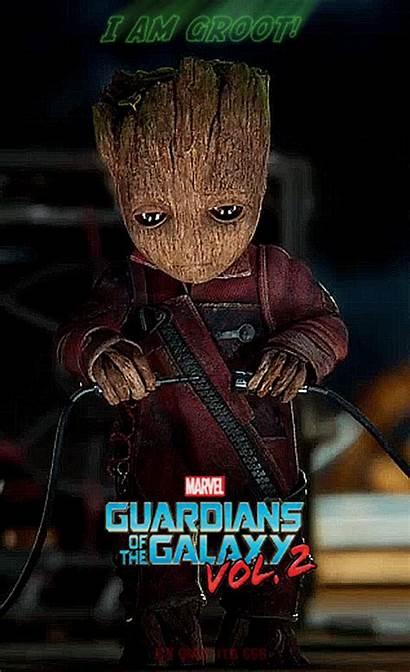 Guardians Groot Galaxy Gifs Marvel Galaxia Guardianes