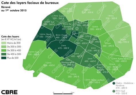 immobilier de bureaux octobre 2015 un m de bureaux combien d euros le