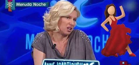 Anne Igartiburu Se Pone 'flamenca' En Canal Sur Con Un