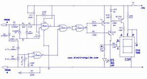 Digital Ac  Dc Voltage Tester Circuit Diagram
