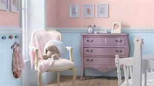 decoration chambre enfant chambre couleur pastel dulux With couleur pastel pour chambre