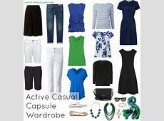 Active Casual Capsule Wardrobe Woman over 60
