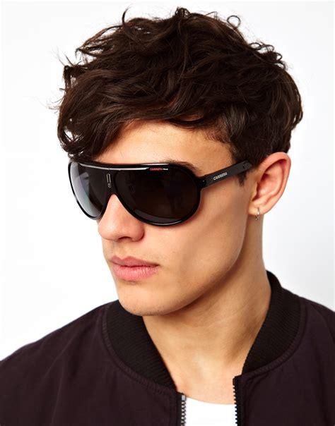 lyst replay aviator sunglasses  black  men