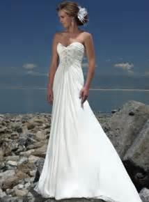 romantic beach wedding dresses sizzling magazine