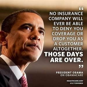 Obama On Obamac... Obama Health Insurance Quotes