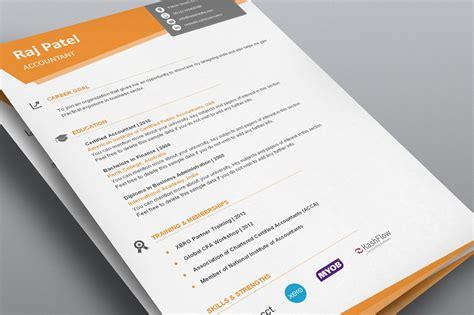 simplistic resume template flat 50 use coupon resume50